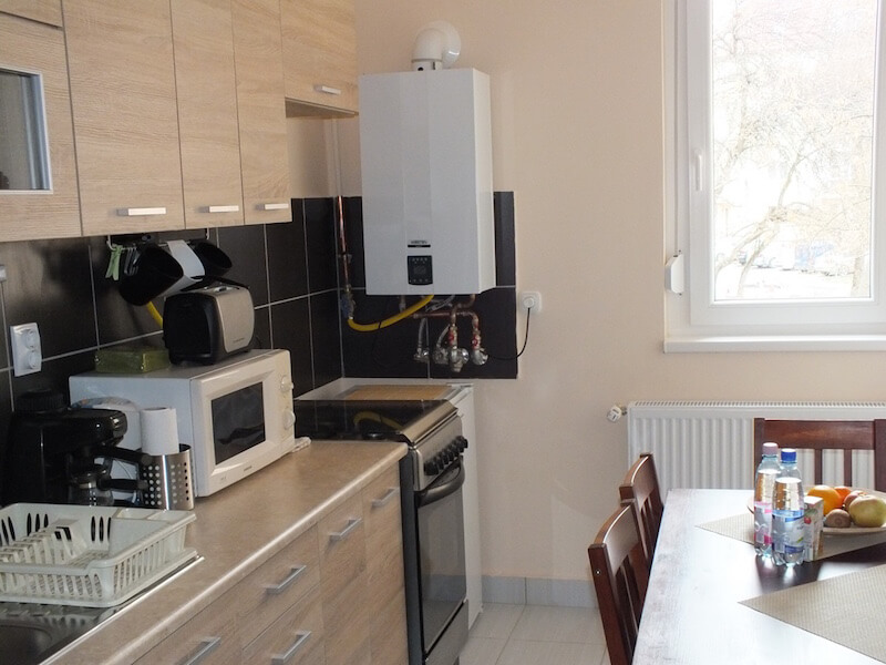 Thermal Residence Eger kitchen